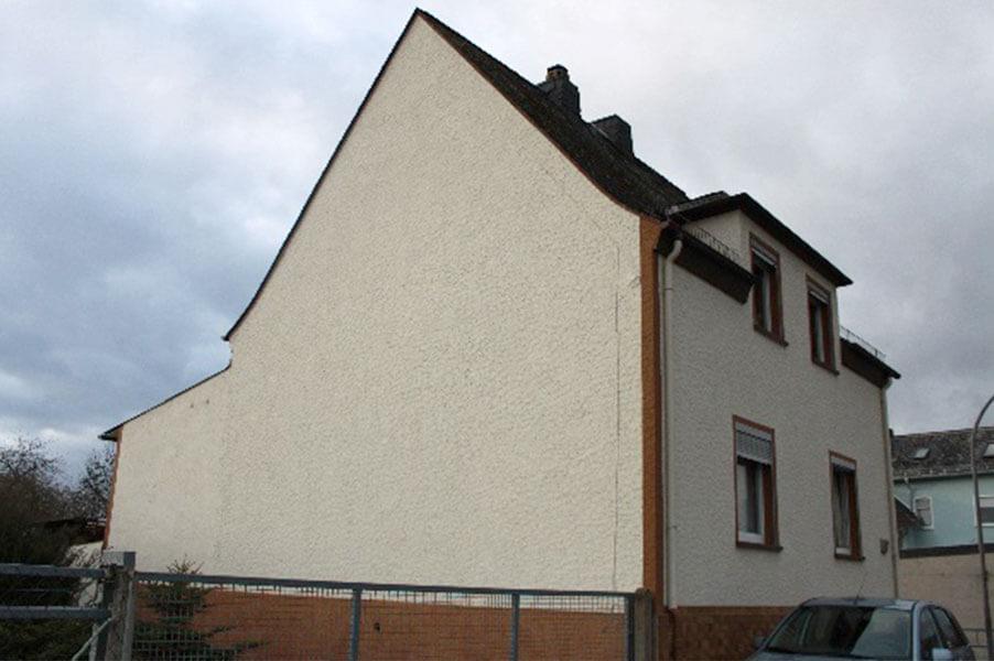 Hausseite ohne Fenster