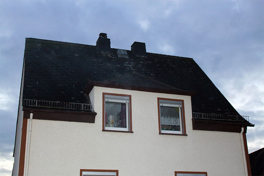 Haus ohne Gaube